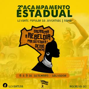 II Acampamento Estadual do Levante Popular da Juventude irá reunir 700 jovens em Salvador