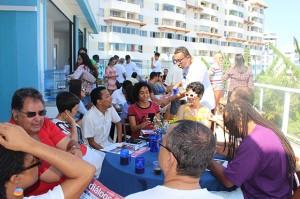 Sindicato comemora 81 anos com debate sobre mobilidade, lançamento de livro e caruru