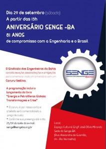 Senge-BA comemora 81 de anos de fundação com evento no dia 29